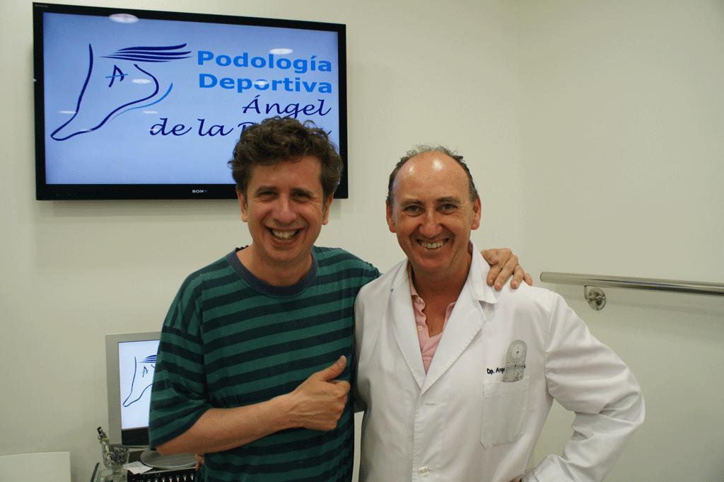 Gabino Diego con Angel de la Rubia