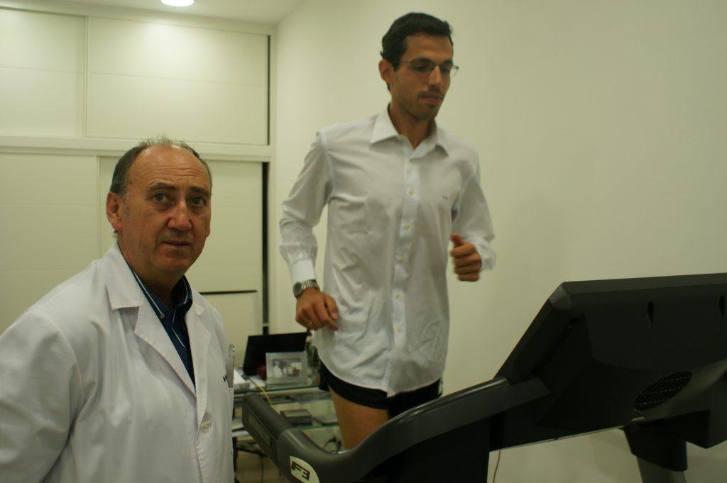 Jaime Calleja, ganador de los 100Km de Corricolari con Angel de la Rubia