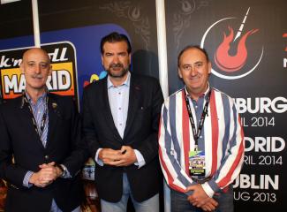 Martin Urrialde, Guillermo Jimenez y Angel de la Rubia