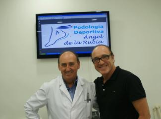 Roberto Gonzalez con Angel de la Rubia