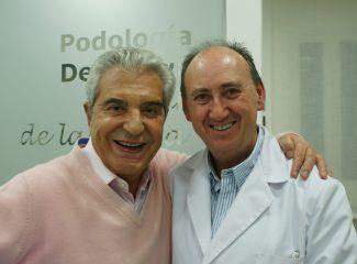 Andres Pajares con Angel de la Rubia