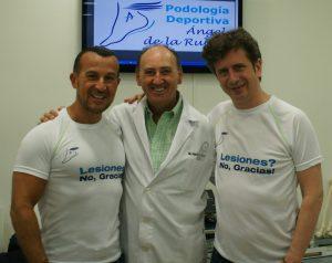 Richy Castellanos, Angel de la Rubia y Gabino Diego