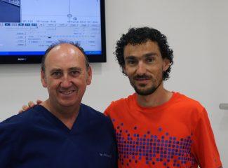 El atleta de 10K y maratón, Jesús España