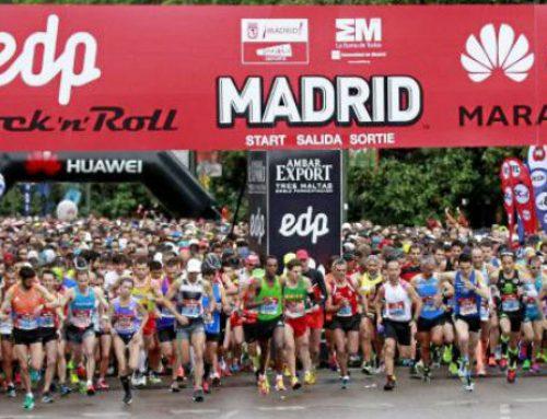Colaboración en la Maratón de Madrid 2017
