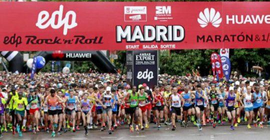 Colaboración en el Maratón de Madrid 2017