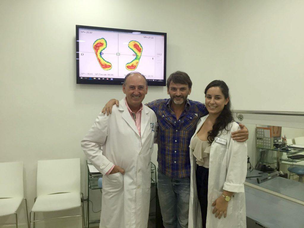 Nuestro amigo Fernando Tejero con el equipo