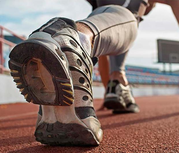 Drop de las zapatillas deportivas