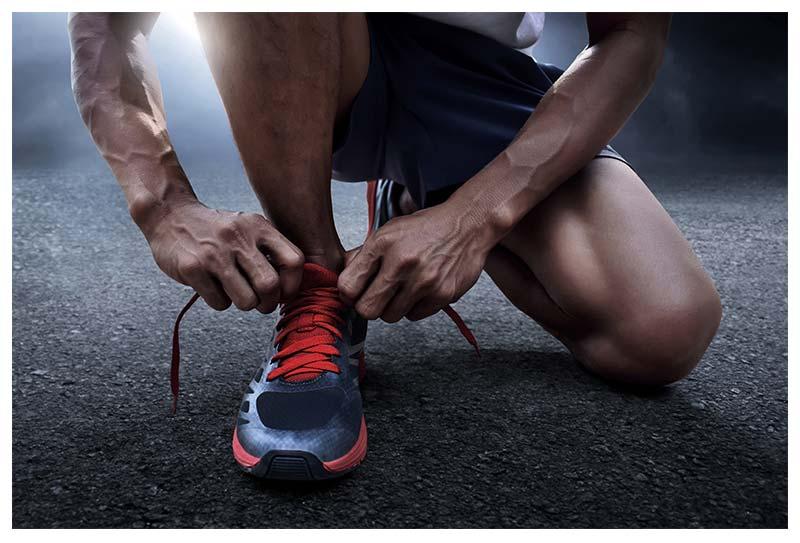 Estudio biomecánico de la pisada El drop de una zapatilla